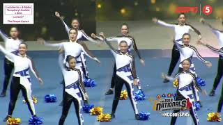 AC CHEER National Cheerleading Championship 2018 | Cheer Day All Girls  ESPN5 Footage