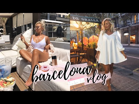 COME TO BARCELONA WITH ME! PR TRIP VLOG | ELLE DARBY