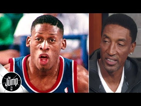 Video: Scottie Pippen: Dennis Rodman's success convinced me I could make it in the NBA | The Jump
