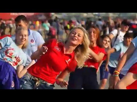 Μουντιάλ 2018: Κέφι και χορός από τους εθελοντές