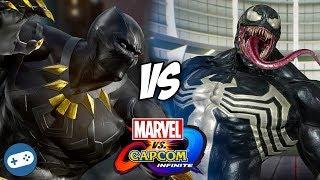 Video Black Panther VS Venom Marvel vs Capcom Infinite Gameplay MP3, 3GP, MP4, WEBM, AVI, FLV Desember 2018