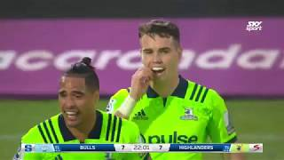 Bulls v Highlanders Rd.11 2018 Super Rugby video highlights