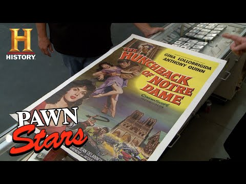 Pawn Stars: Chumlee Drives a Tough Bargain for Hunchback of Notre Dame Poster (S13) | History