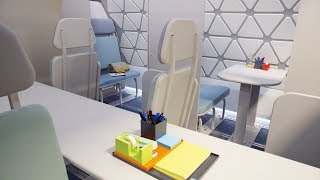 Coming To Air Travel Soon: Yoga Studios, Kid Play Areas, And Shared Workspaces Video