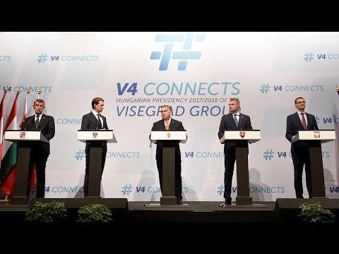Merkel unter Druck: Visegrad-Staaten boykottieren Asy ...