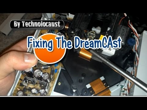 how to clean dreamcast laser