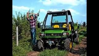 8. John Deere Gator HPX 4x4
