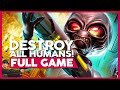 Destroy All Humans 1 Ps4 Full Gameplay playthrough No C