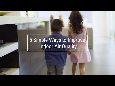 Daikin Australia:  5 Simple Ways to Improve Indoor Air Quality
