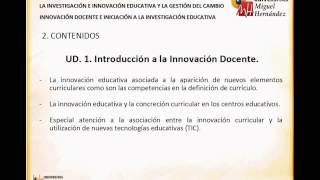 Umh0458 2013-14 Lec001 Presentación De La Asignatura