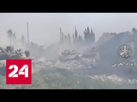 ВВС Израиля нанесли ракетный удар по сирийскому аэродрому Тифор - Россия 24 - DomaVideo.Ru