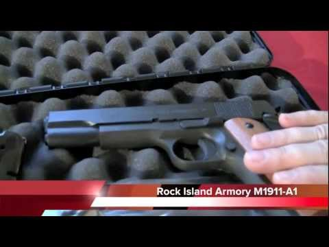 Rock Island Armory M1911-A1 Review, Crucible Arms