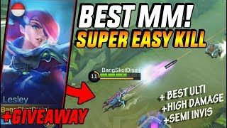 Download Video NEW MM LESLEY! GAK BISA KABUR DARI ULTINYA! - Mobile Legend Indonesia MP3 3GP MP4