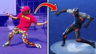 Video Top 10 Fortnite Dances IN REAL LIFE! (Fortnite Battle Royale Season 4) MP3, 3GP, MP4, WEBM, AVI, FLV Agustus 2018