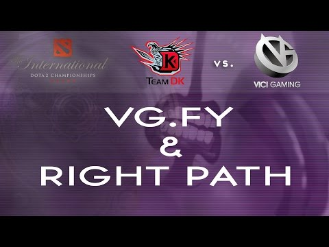 Highlight -The Right Path - VG vs EG @TI4