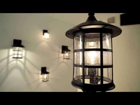 Video for Freeport Black Outdoor Post Light