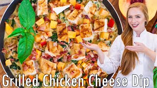 Creamy Grilled Chicken Skillet by Tatyana's Everyday Food