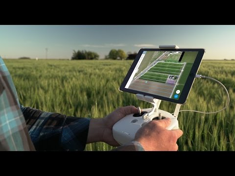With DroneDeploy's Fieldscanner, pilots can create maps as they fly