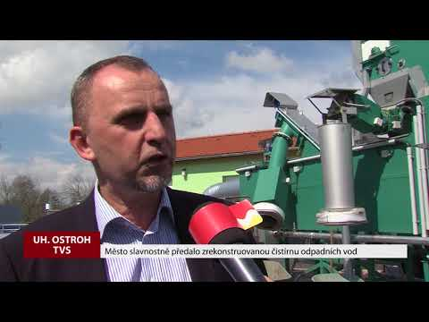 TVS: Uherský Ostroh - Otevření čističky