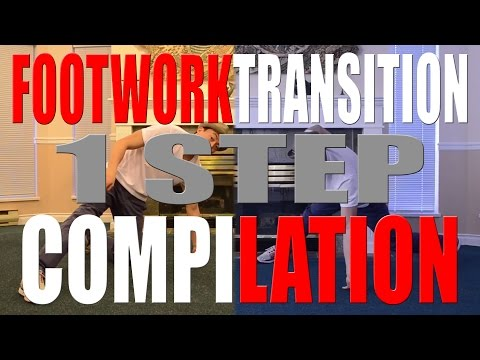How to Break Dance | Footwork Transition | 1 Step Compilation