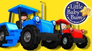 Tractor Song! | Nursery Rhymes | Original Song By LittleBabyBum!