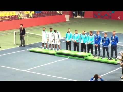 Pakistan tennis team win silver madel in baku games 2017