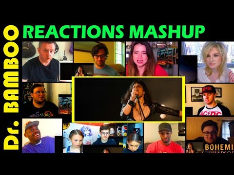 Bohemian Rhapsody Trailer REACTIONS MASHUP