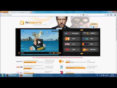Kostenlos im Internet Fernsehen TV-Stream.to [HD] - TutorialChannel