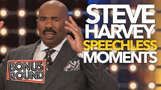 Video 10 STEVE HARVEY SPEECHLESS Moments & Answers On Family Feud 😂 | Bonus Round MP3, 3GP, MP4, WEBM, AVI, FLV Desember 2018