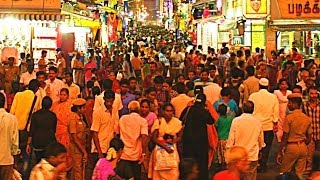 Chennai India  city images : World's Most Crowded Place - Ranganathan Street in Chennai, India