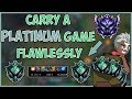 Download Lagu Maxske's Ekko | CARRY A PLATINUM GAME FLAWLESSLY! Mp3 Free