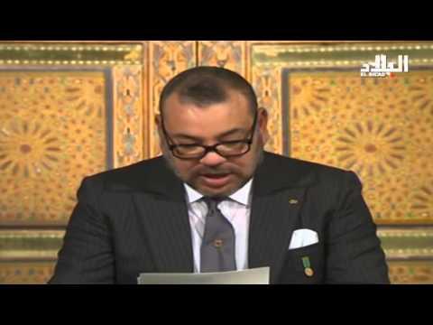 مذيعة جزائرية وخطاب الملك