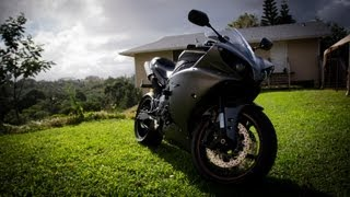 5. 2013 Yamaha YZF R1 Review with Two Brothers Exhaust (start up and walk around)