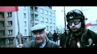 Hej Ty Tusku zdrajco Polski! Zaj*bisty RAPowy popis dziadka na Marszu Niepodległości!