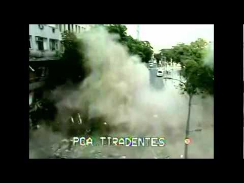 Exploso em restaurante no centro do Rio de Janeiro   Explosion in Rio de Janeiro