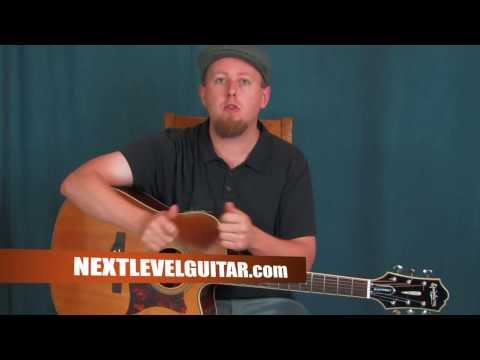 Easy Acoustic guitar lesson learn Double Drop D Alternate Tuning create music songs learn chords