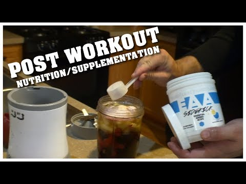 Post Workout Nutrition and Supplementation ( Current Routine )