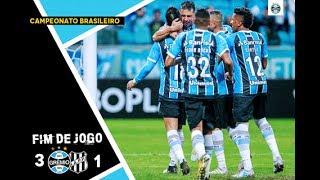 FICHA TÉCNICA GRÊMIO 3 X 1 PONTE PRETA Data e hora: 16/07/2017 (domingo), às 16h (Brasília) Local: Arena do Grêmio,...