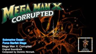 Mega Man X: Corrupted - Music Preview, Submarine Ocean (Force Starfish Stage)