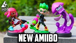 Splatoon 2 released today for Nintendo Switch, and so did three brand new amiibo! We unbox and take an in-depth look at each of the new figures! Let us know YOUR favorite new amiibo in the comments down below!Follow Us On Twitter: http://twitter.com/TheSwitchForceFollow Us on Instagram: http://instagram.com/SwitchForce