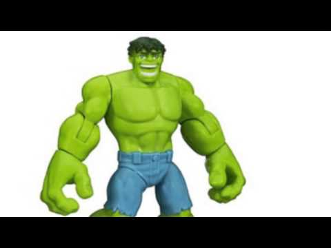 Video New YouTube  video for the Playskool Heroes Marvel Super Hero Adventures