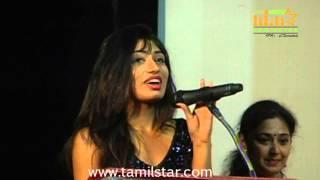 Jai Akash and Alisha at Kadhalukku Kanillai Audio Launch