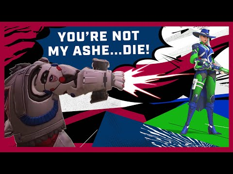 BLOOPERS! — B.O.B. vs IMPOSTER Ashe! | Overwatch League Playoffs Week 1