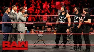 Roman Reigns Wants An Intercontinental Title Match  Raw  Nov  20  2017