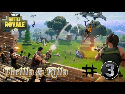 Fortnite Thrills & Kills #3: Rocket Launcher Suicide!