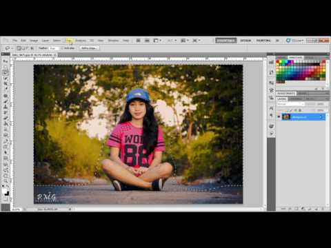 🔴 How to Blur Background in Photoshop CS5 /The Fastest and Easy Way