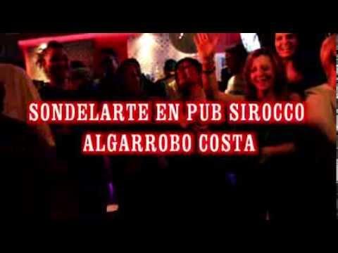 SONDELARTE DE NERJA EN PUB SIROCCO ALGARROBO COSTA