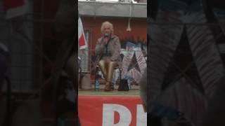 Maria Laura durante la Festa dell\'Unità di Ciampino - settembre 2016