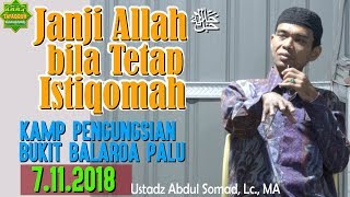 Video Janji Allah ﷻ Bila Istiqomah (Pengungsian Balaroa Palu, 7.11.2018) - Ustadz Abdul Somad, Lc. MA MP3, 3GP, MP4, WEBM, AVI, FLV Desember 2018