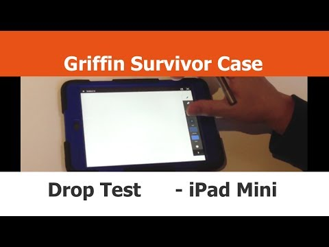 Griffin Survivor Case - Drop Test Semi-Fail - iPad mini Cases